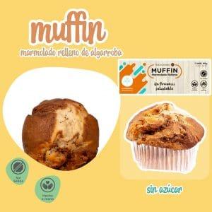 Muffins sin azúcar 20 unidades